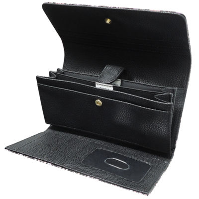 Buxton File Organizer RFID Blocking Indexer Wallet