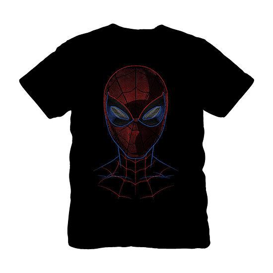 Boys Crew Neck Short Sleeve Spiderman Graphic T-Shirt - Preschool / Big Kid