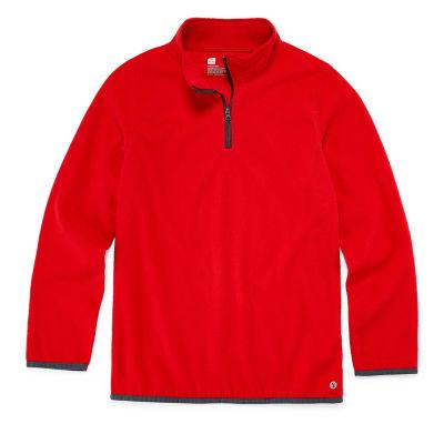 Xersion Boys Long Sleeve Quarter-Zip Pullover