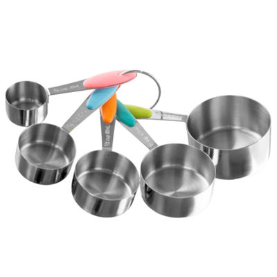 Classic Cuisine Stainless Steel Measuring Cups 5-pc. Measuring Cup