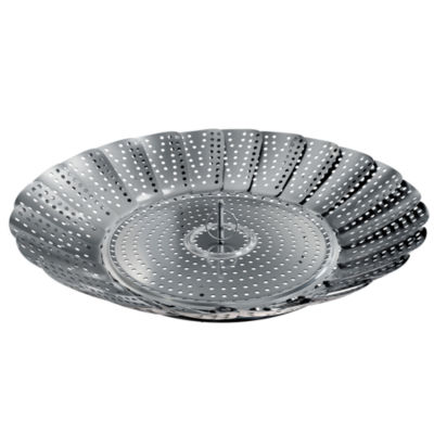 Classic Cuisine Steamer Insert Stainless Steel Basket