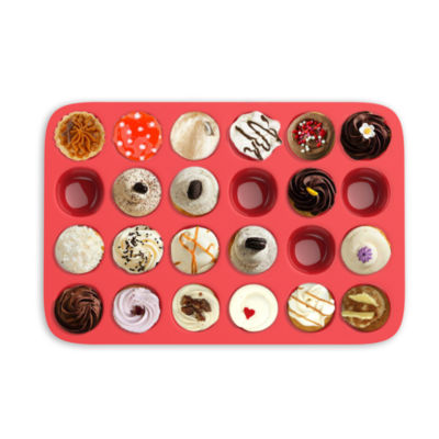 Chef Buddy Silicone Mini Muffin & Cupcake Pan