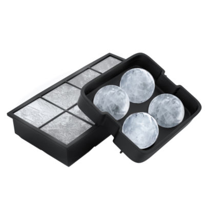 Chef Buddy Silicone Ice Cube Trays 2-pc. Ice Mold
