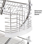 Chef Buddy 2-Tier Chrome Dish Drying Rack