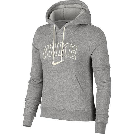 Nike Womens Hooded Neck Long Sleeve Sweatshirt