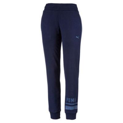 Puma Athletics Knit Logo Workout Pants