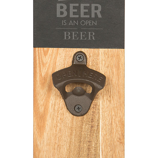 Cathy's Concepts 'The Best Beer Is An Open Beer' Wall Mount Bottle Opener