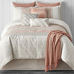 JCPenney Home Trellis 10-pc. Floral Comforter Set