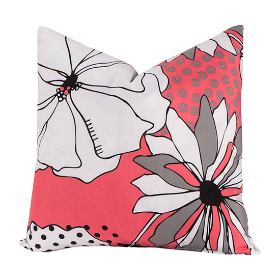 Crayola Flower Patch Throw Pillow