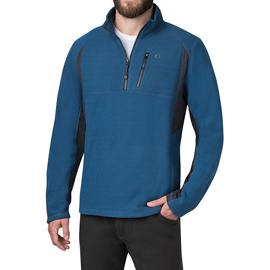 American Outdoorsman American Outdoorsman Mens Mock Neck Long Sleeve Quarter-Zip Pullover