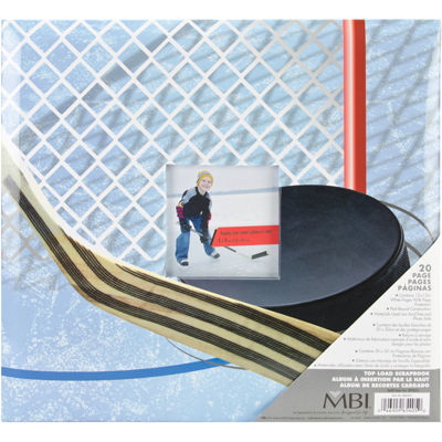Sport & Hobby Postbound Album - Hockey