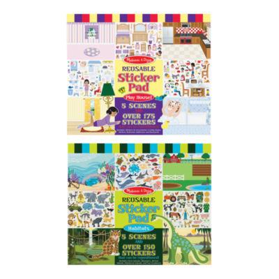 Melissa & Doug® Reusable Sticker Pad Bundle