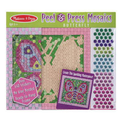Melissa & Doug® Peel & Press Sticker by Number - Butterfly