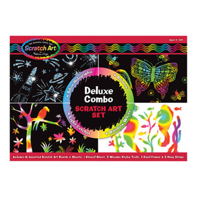 Melissa & Doug® Deluxe Combo Scratch Art Set