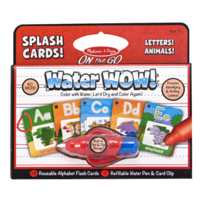 Melissa & Doug® Water Wow! - Splash Cards Alphabet