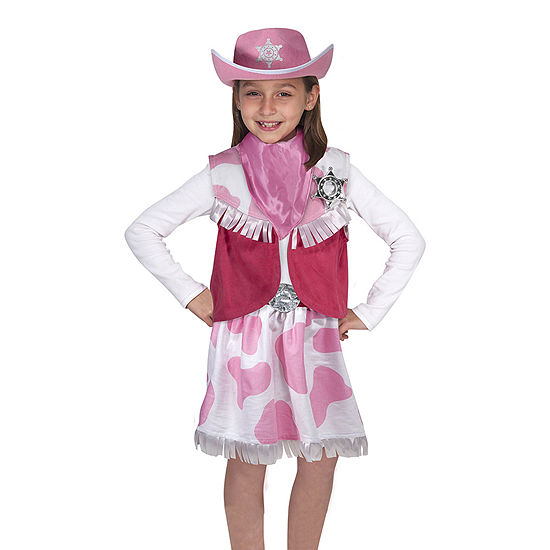 Melissa & Doug Cowgirl Role Play Set One Size Fits Most Girls Costume