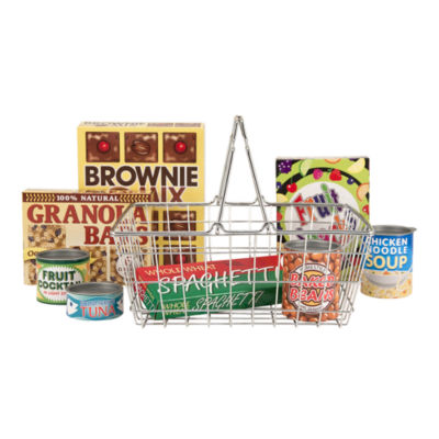 Melissa & Doug® Let's Play House! Grocery Basket