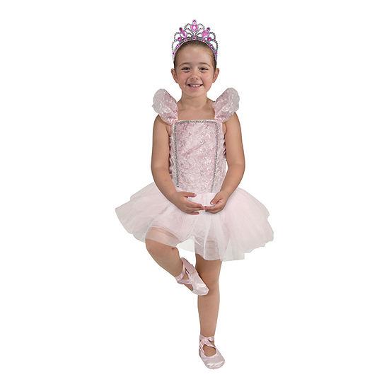 Melissa & Doug Ballerina Role Play Set Girls Costume