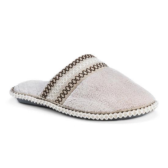 Muk Luks Womens Cathy Slip-on Slippers
