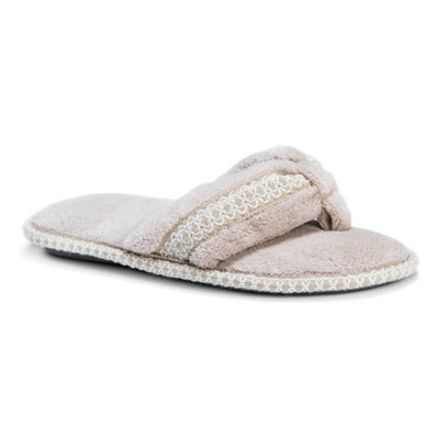 Muk Luks Womens Darlene Slip-on Slippers