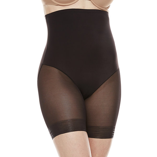 Underscore Innovative Edge® Sheer High-Waist Extra Firm Control Thigh Slimmers - 129-3535