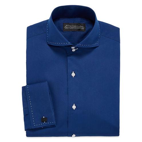 D 39 amante modern french cuff long sleeve dress shirt big for Big and tall french cuff dress shirts