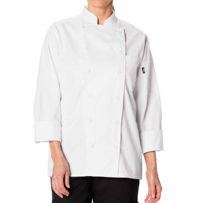 Dickies Womens Long Sleeve Chef Coat