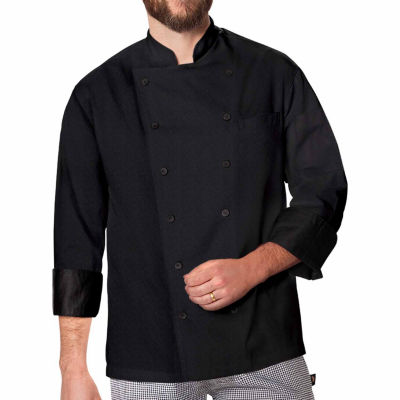 Dickies Unisex Exec Chef Coat W Fluid Barrier - Big