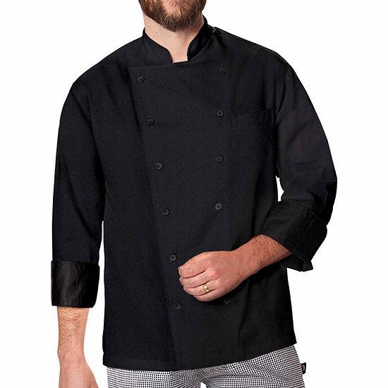 Dickies Unisex Exec Chef Coat W Fluid Barrier - Big