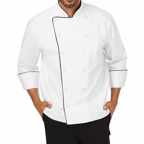 Dickies Unisex Long Sleeve Chef Coat-Big