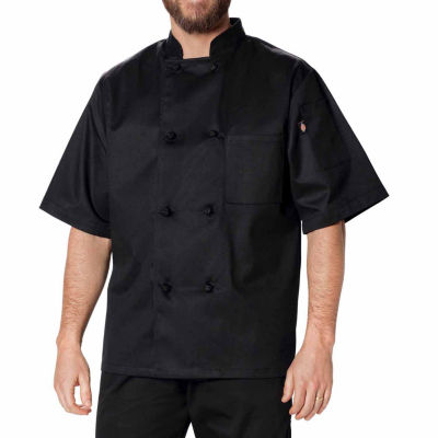 Dickies Unisex Classic Knot Button Chef Coat