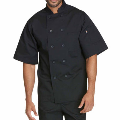 Dickies Unisex Short Sleeve Classic Chef Coat