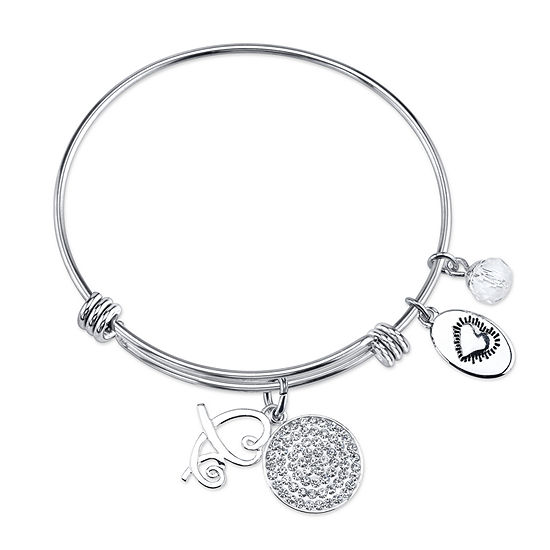 Footnotes Bangle Bracelet