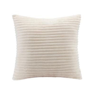 Premier Comfort Parker Ultra Soft Corduroy Plush Square Throw Pillow