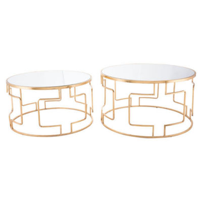 King Set of 2 End Tables