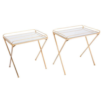 Opposite Set of 2 End Tables