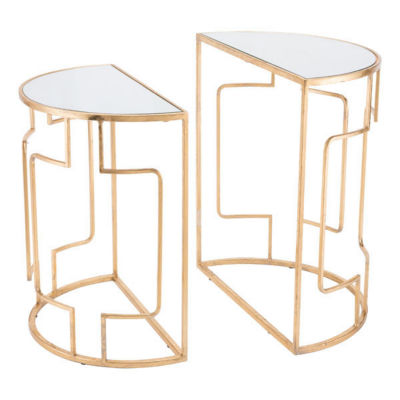 Roma Set of 2 End Tables