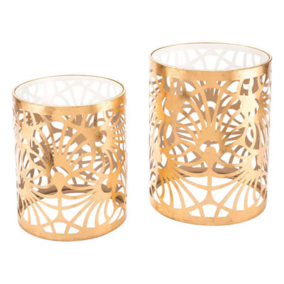 Tropic Set of 2 End Tables
