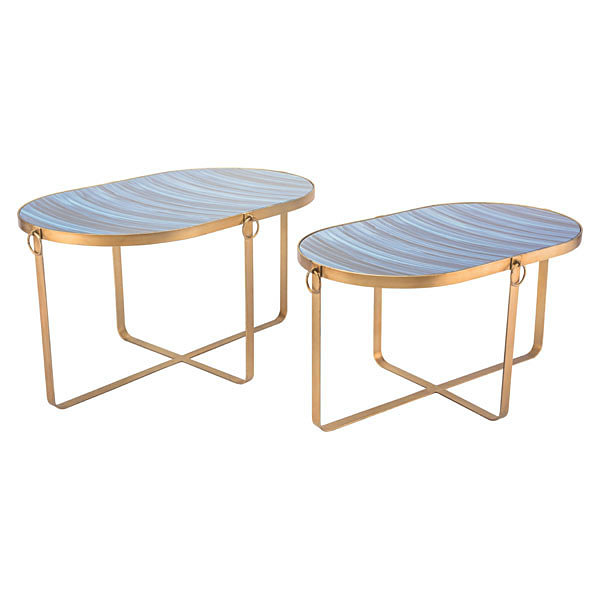 Zaphire Set of 2 End Tables