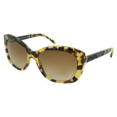 Burberry Sunglasses - 4164 / Frame: Blonde HavanaLens: Brown Gradient