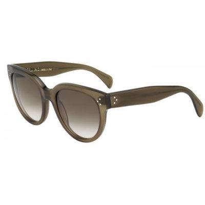 CŽline Sunglasses - 41755/S / Frame: Military Green Lens: Brown Gray Gradient