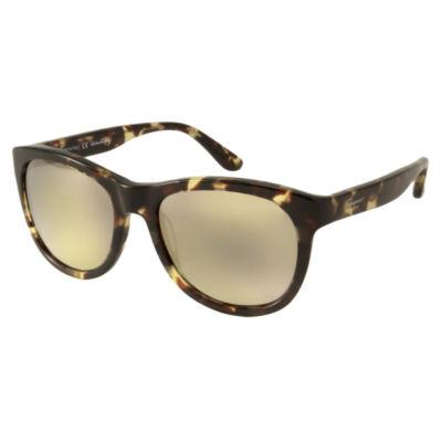 Ferragamo Sunglasses - Sf709S / Frame: Vintage Tortoise Lens: Gray With Gold Mirror