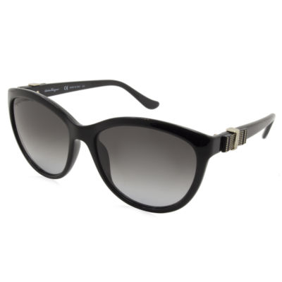 Ferragamo Sunglasses - Sf760S / Frame: Black Lens:Black Gradient