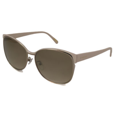 Givenchy Sunglasses - Sgv457M / Frame: Gold And Cream Lens: Brown Gradient