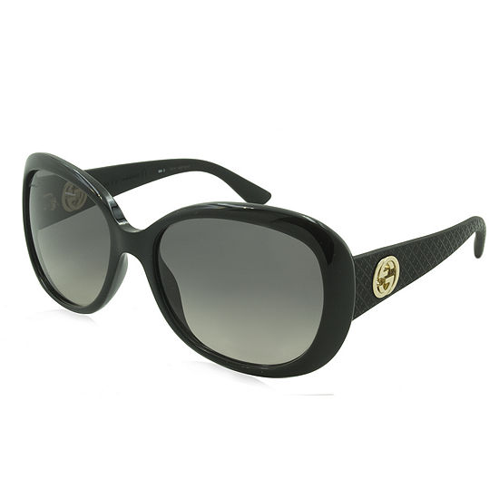 Gucci Sunglasses - 3787 / Frame: Black With RubberTemples Lens: Gray Gradient