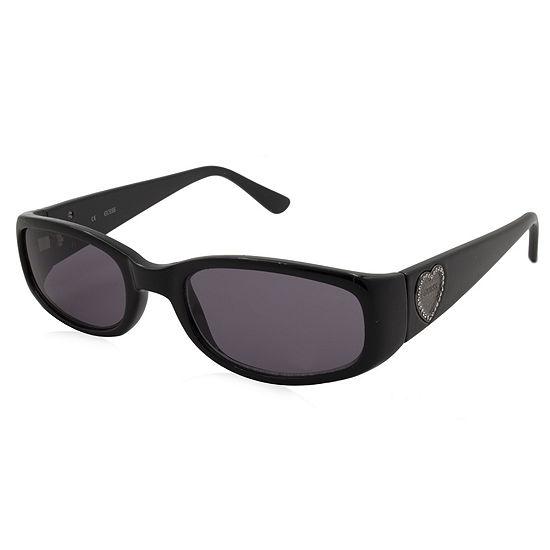Guess Sunglasses - 7125 / Frame: Black Print Lens:Grey