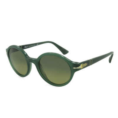 Persol Sunglasses - Po3098 / Frame: Opal Green Lens: Blue Yellow Gradient (50Mm)