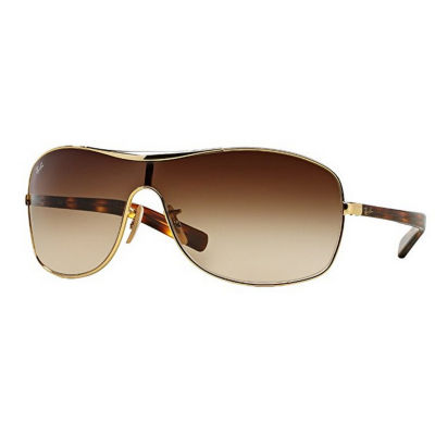 Ray-Ban Sunglasses - Rb3469L / Frame: Arista GoldLens: Brown Gradient