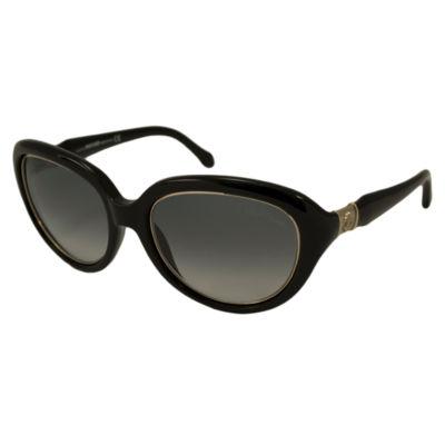 Roberto Cavalli Sunglasses - Rc 781S Acqua / Frame: Black Lens: Gray Gradient