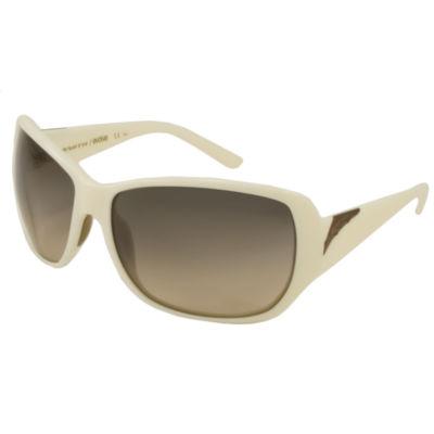 Smith Sunglasses - Hemline / Frame: Ivory Lens: Brown Gradient